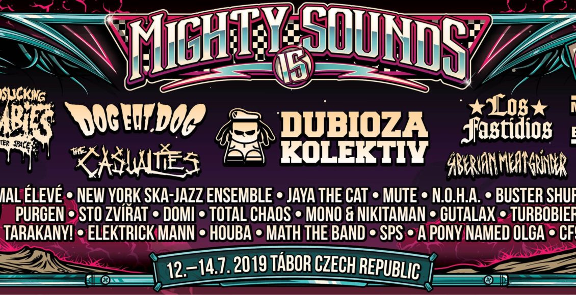 Might Sounds line up 2019