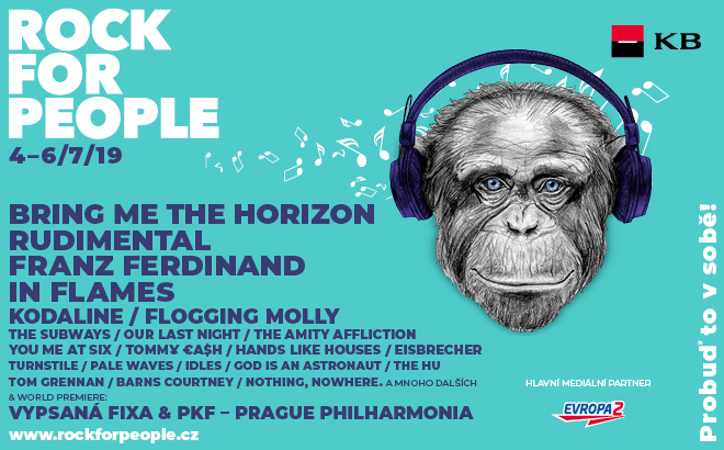 Rock for people line up 2019